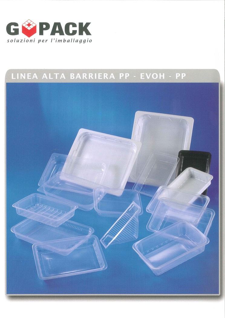 Vaschette alimentari in plastica