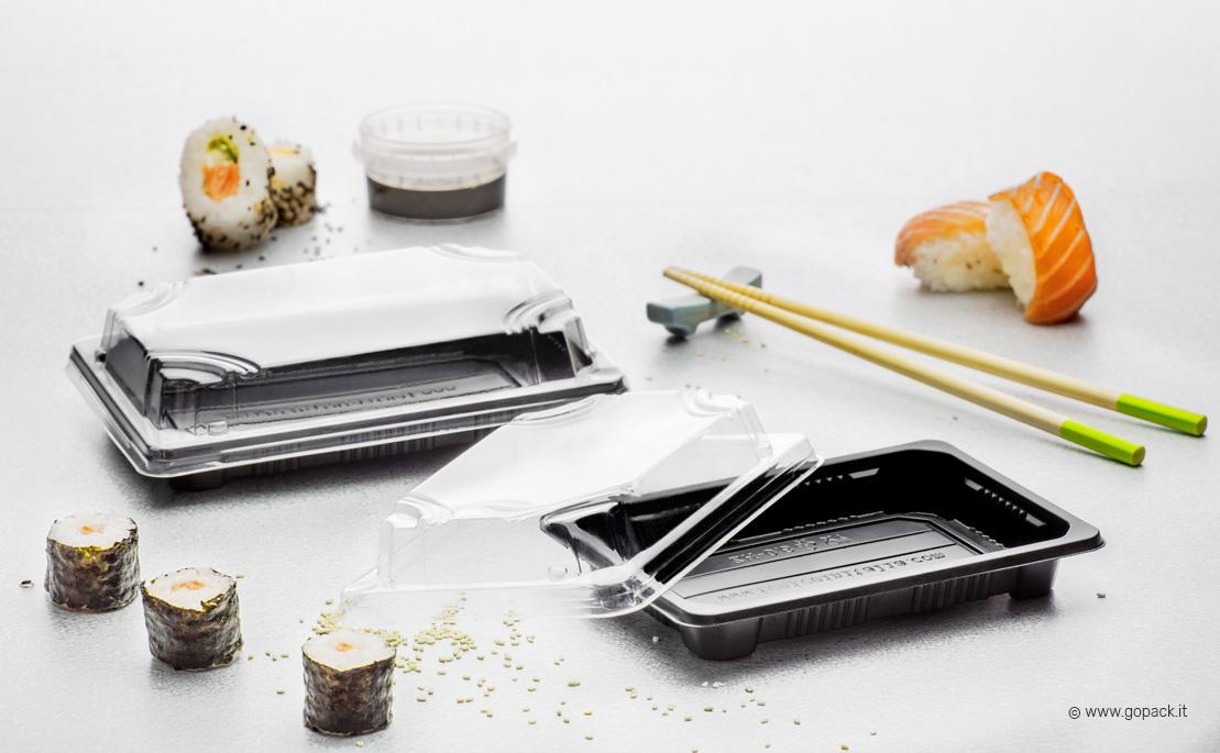 vaschetta take away sushi